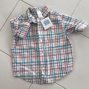 NWT Toddler Boy Button Down Shirt - 24 Months